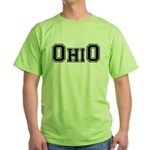 OhiO Boobies Green T-Shirt