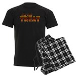 Glowing I'm the Treat Men's Dark Pajamas