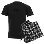 HERO Men's Dark Pajamas