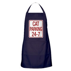 Cat Parking Apron (dark)