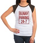 Bunny Parking Women's Cap Sleeve T-Shirt