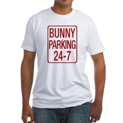 Bunny Parking Fitted T-Shirt