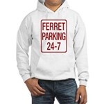 Ferret Parking Hooded Sweatshirt