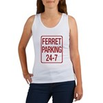 Ferret Parking Women's Tank Top