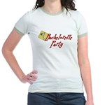 Martini Bachelorette Party Jr. Ringer T-Shirt
