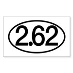 2.62 Sticker (Rectangle)