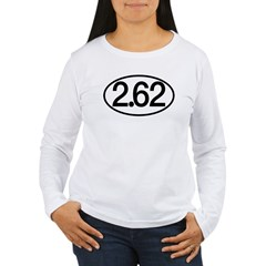 2.62 Women's Long Sleeve T-Shirt