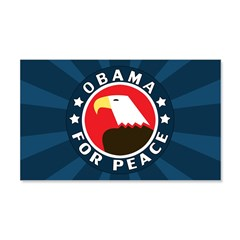 Obama For Peace 20x12 Wall Decal