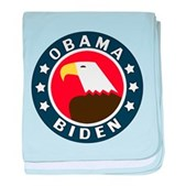 Obama-Biden Eagle baby blanket