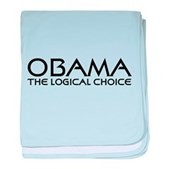 Logical Obama baby blanket