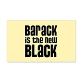 Barack the New Black 22x14 Wall Peel