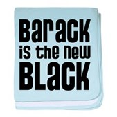 Barack the New Black baby blanket