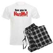 See You In Health! Men's Light Pajamas