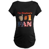 I'm Stephen's #1 Fan Maternity Dark T-Shirt