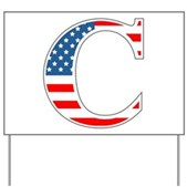 C stands for Colbert Yard Sign