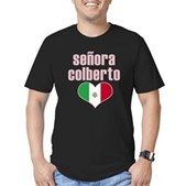 Senora Colberto Men's Fitted T-Shirt (dark)