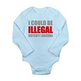 Could Be Illegal Anti-AZ Long Sleeve Infant Bodysu