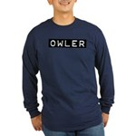 Owler Label Long Sleeve Dark T-Shirt
