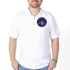 Official Owling Dept Seal Golf Shirt