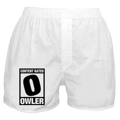 Content Rated Owler Boxer Shorts