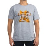 Ivrea Battle Of The Oranges Souvenirs Gifts Tees Men's Fitted T-Shirt (dark)