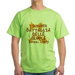 Ivrea Battle Of The Oranges Souvenirs Gifts Tees Green T-Shirt