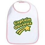 Captain Obvious Bib