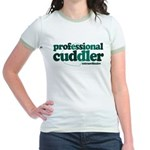 Professional Cuddler Jr. Ringer T-Shirt