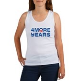 4 More Years Women's Tank Top