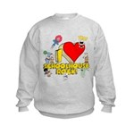 I Heart Schoolhouse Rock! Kids Sweatshirt