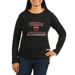 Team Applewhite Women's Long Sleeve Dark T-Shirt