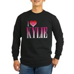 I Heart Kylie Long Sleeve Dark T-Shirt