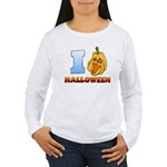 I Love Halloween Women's Long Sleeve T-Shirt