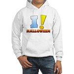 I ! Halloween Hooded Sweatshirt