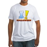 I ! Halloween Fitted T-Shirt