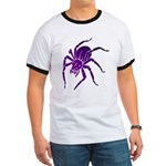 Purple Spider Ringer T