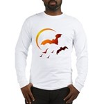 Flying Vampire Bats Long Sleeve T-Shirt
