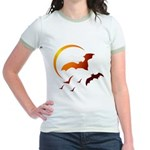 Flying Vampire Bats Jr. Ringer T-Shirt