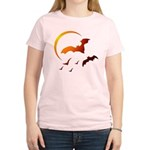 Flying Vampire Bats Women's Light T-Shirt