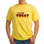 Glowing I'm the Treat Yellow T-Shirt