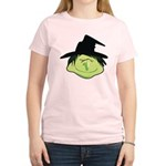 Happy Green Witch Women's Light T-Shirt