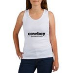generic cowboy costume Women's Tank Top