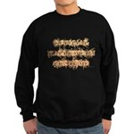 Official Halloween Costume Dark Sweatshirt (dark)