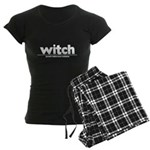 Generic witch Costume Women's Dark Pajamas