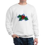 Christmas Holly Berries Sweatshirt