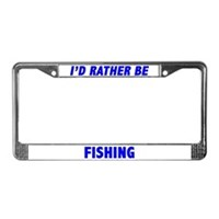 Mahi Mahi License Plate Frames