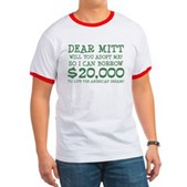 Mitt Will You Adopt Me? Ringer T