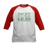 Mitt Will You Adopt Me? Kids Baseball Jersey