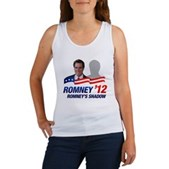 Anti-Romney Shadow Women's Tank Top