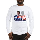 Anti-Romney Shadow Long Sleeve T-Shirt